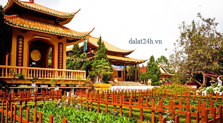 Gác trống của thiền viện Trúc Lâm Đà Lạt