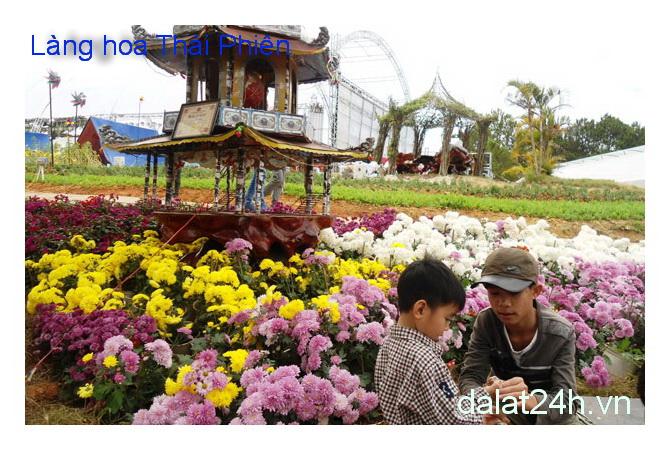 Làng Hoa Thái Phiên Đà Lạt 02