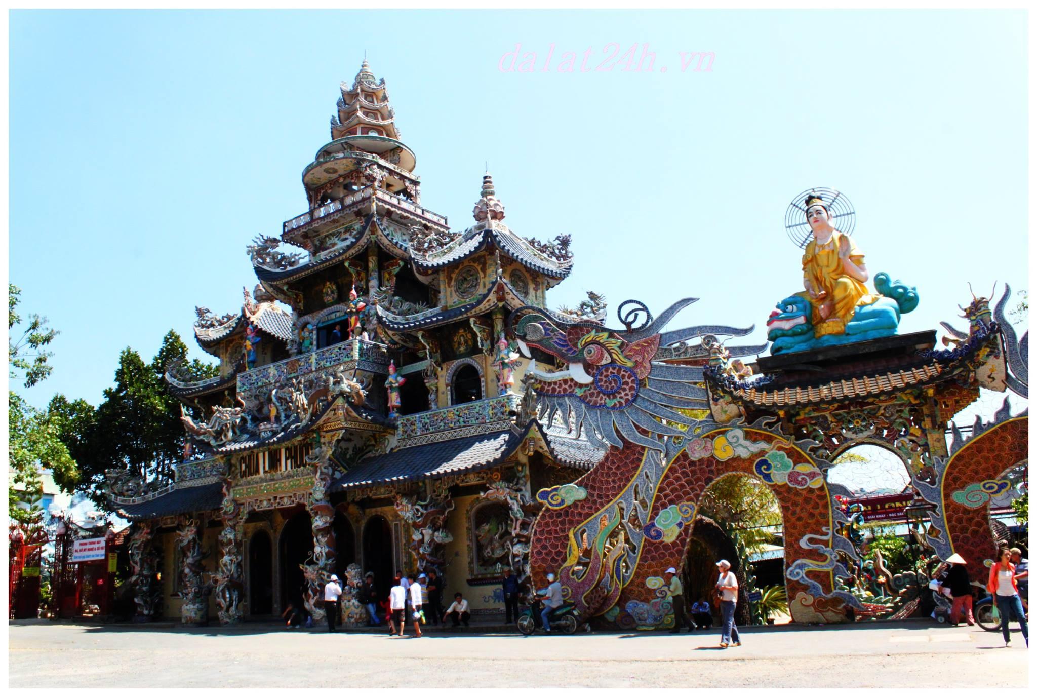 Du lịch Đà Lạt - chùa linh phước Đà Lạt