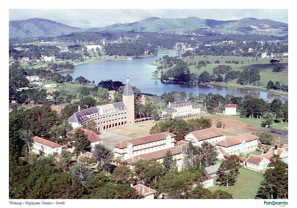 Khuông viên trường cao đẳng sư phạm Đà Lạt